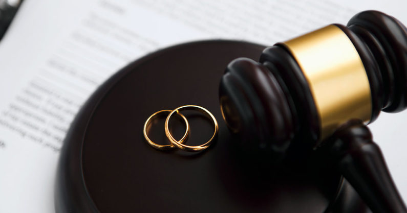 Marriage dissolution